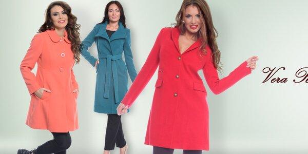 Elegantné dámske kabáty Vera Ravenna