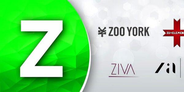 Z - Zaps, Zu Elements, Zoo York, Ziva...Skladom