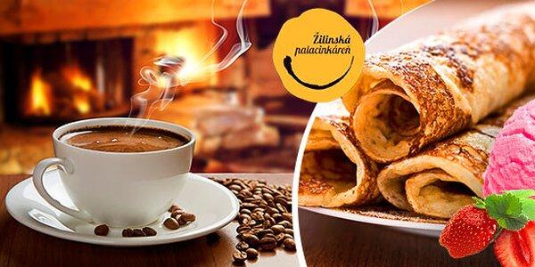 Proteínová palacinka, vyprážaná zmrzlina a káva