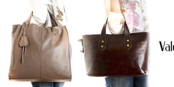 Kožené dámske kabelky a batôžky Valentina Italy