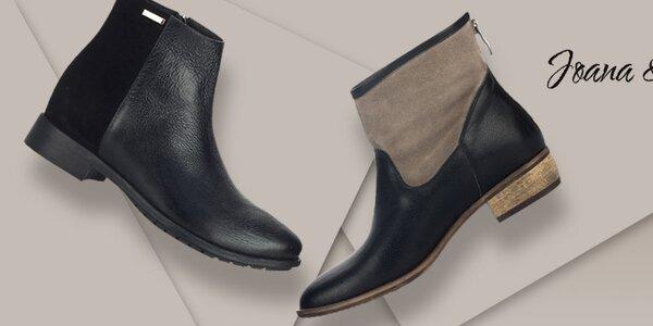 Luxusné kožené topánky pre náročné Joana and Paola