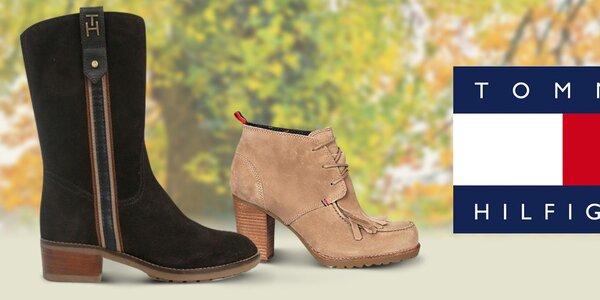 Neodolateľné dámske topánky Tommy Hilfiger