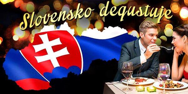 Slovensko degustuje