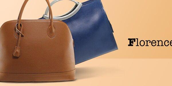 Urobte si radosť koženou kabelkou Florence Bags