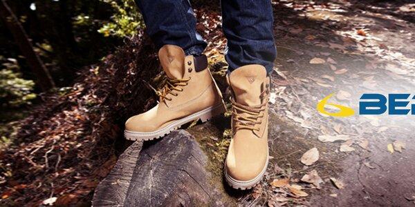 Pánske ležérne topánky do nepohody Beppi