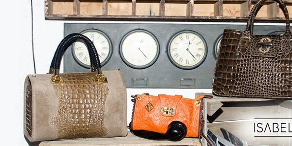 Dokonalé kožené kabelky pre dámy Isabella Rhea