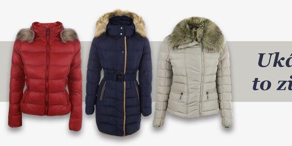 Dámske talianske zimné bundy a kabáty B.style, DJ85°C a N & P