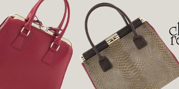 Krásne kožené kabelky Classe Regina
