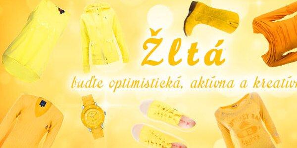 Žltá - buďte optimistická, aktívna a kreatívna