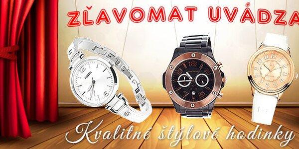 Kvalitné a štýlové hodinky... Skladom