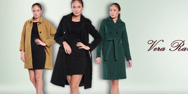 Dámske farebné kabáty Vera Ravenna