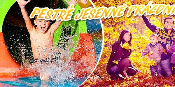 Bohaté jesenné prázdniny - pobyty i aquaparky
