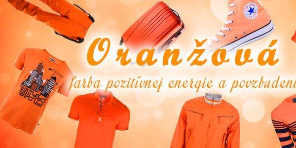 Oranžová - farba pozitívnej energie a povzbudenia