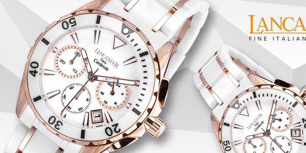 Skvostné dámske hodinky Lancaster