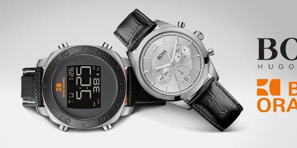 Štýlové hodinky na pánske zápästia Hugo Boss