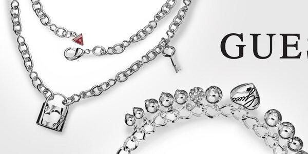 Neodolateľné dámske šperky Guess