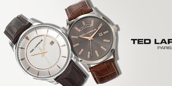 Minimalistická elegancia - pánske hodinky Ted Lapidus