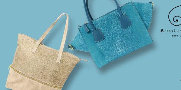 Elegantné aj štýlové kožené kabelky Kreativa Bags