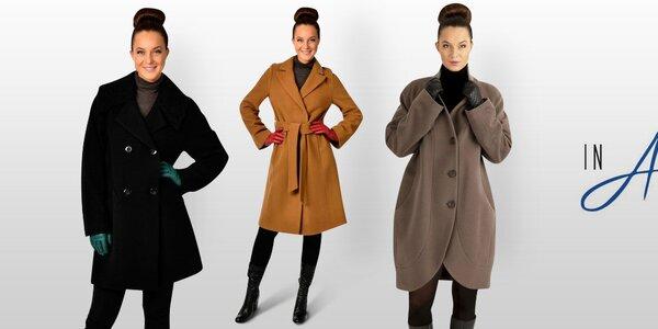 Pekné dámske kabáty a saká inAvati, Tik Tu