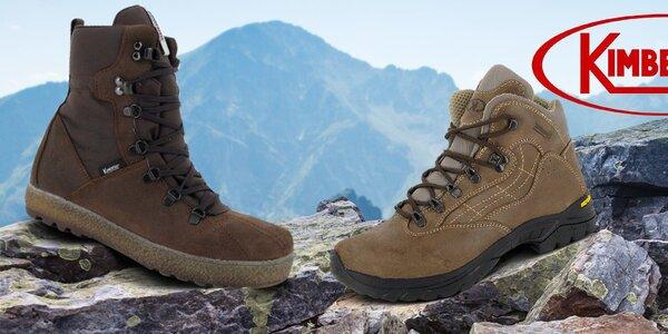 Zimné aj trekové topánky pre mužov Kimberfeel