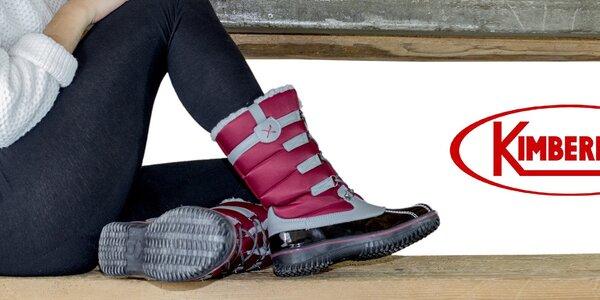 Zimné aj trekové topánky pre ženy Kimberfeel