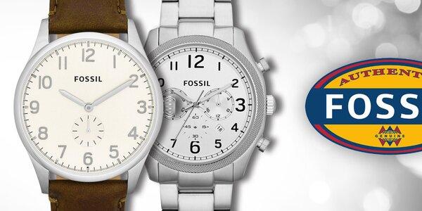 Fossil - elegantné a štýlové pánske hodinky