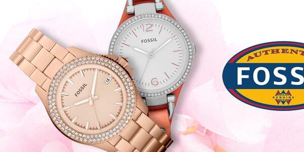 Fossil - štýlové dámske hodinky a šperky