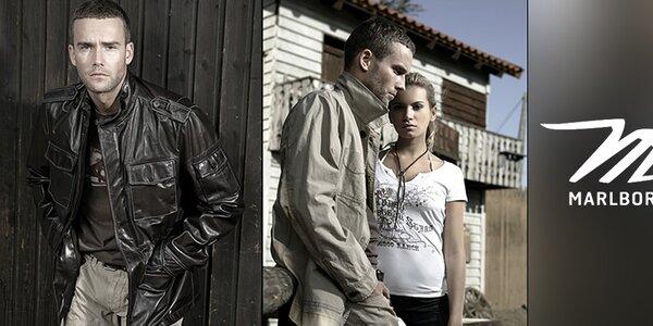 Pánske košele, tričká a bundy Marlboro Classics