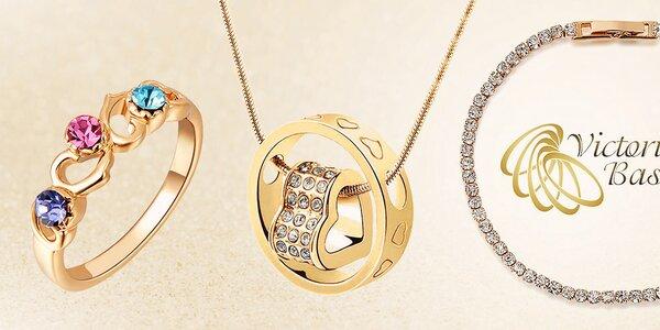 Skvostné šperky s kryštálmi Victoria de Bastilla