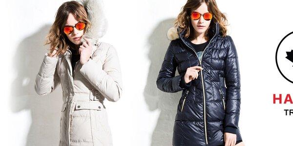 Šmrncovné dámske kabáty a bundy Halifax