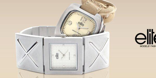 Elite - dámske hodinky, čo majú štýl
