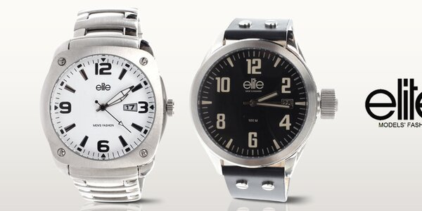 Elite - pánske hodinky, čo majú štýl