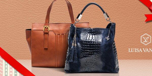 Elegantné kožené kabelky Luisa Vannini