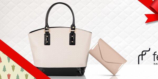 Elegantné listové kabelky a kabelky Felice