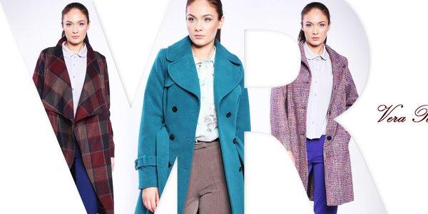 Pôvabné dámske kabáty Vera Ravenna