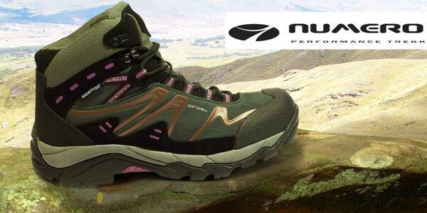 Pohodlné outdoorové topánky pre ženy Numero Uno