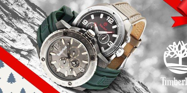 Štýlové pánske hodinky Timberland