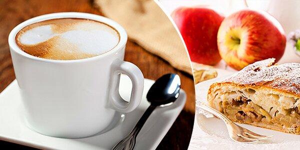 2 kávy a 2 domáce štrudle
