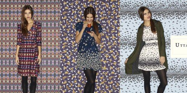 Dámske vzorované šaty a svetríky Uttam Boutique
