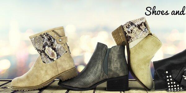 Pohodové dámske topánky Shoes and the City, Vanessa Wu