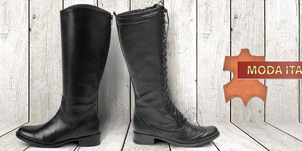 Úchvatné kožené topánky pre dámy Moda Italiana