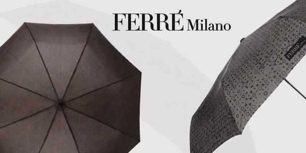 Kamarát do dažďa - pánske dáždniky Ferré Milano