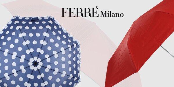 Kamarát do dažďa - dámske dáždniky Ferré Milano
