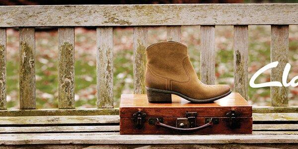 Obúvajte kvalitu - dámske topánky Clarks