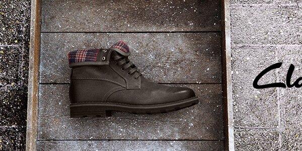 Obúvajte kvalitu - pánske topánky Clarks