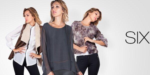 Elegantné módne kúsky pre náročné dámy Sixie