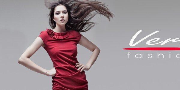 Neodolateľné dámske šaty Vera Fashion