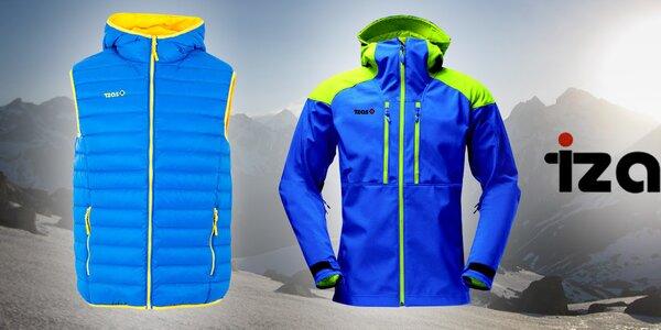 Funkčné a farebné outdoorové oblečenie pre mužov Izas