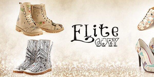 Zažeňte nudu rôznymi hravými topánkami od Elite Goby