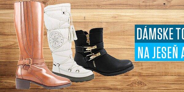 Dámske topánky na jeseň aj zimu - Všetky skladom!